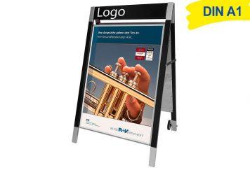 Design Kundenstopper A1 OAKLAND