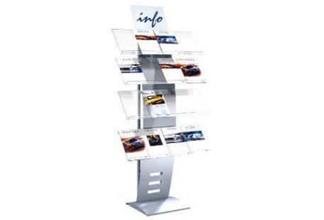 Design Prospektregal A4 AKRON