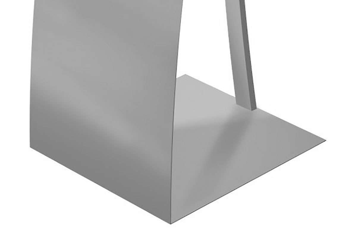 Design Prospektständer MILWAUKEE - Bodenplatte