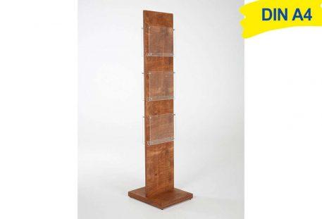 Holz Prospektständer A4 BALTIMORE