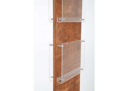 Holz Prospektständer A4 BALTIMORE - Gestell