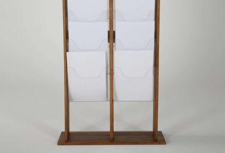 Holz Prospektständer A4 LOUISVILLE - Gestell