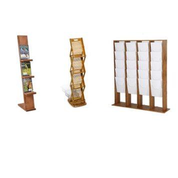 Holz Prospektständer