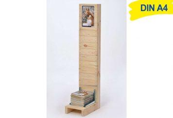 Katalogständer Holz A4 OMAHA