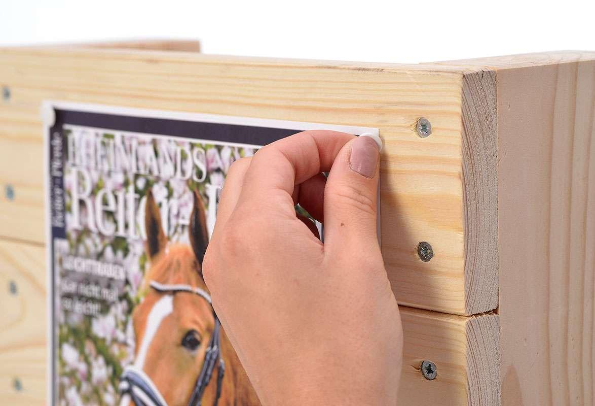 Katalogständer Holz A4 OMAHA - Plakatfläche