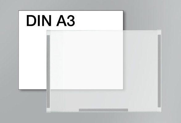 Plakattasche A3 - Magnetstreifen