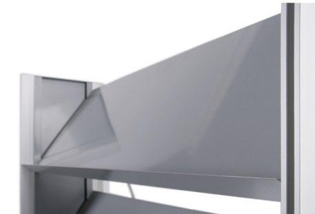 Prospektregal A4 MODESTO - Schrägablage