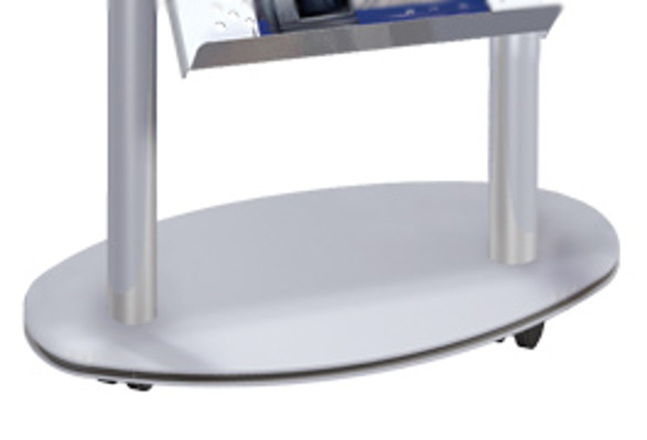 Prospektregal A4 TACOMAH - Bodenplatte