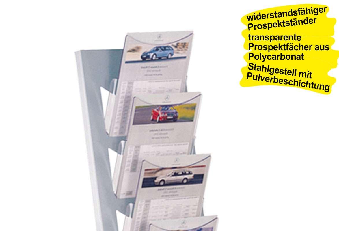 Prospektständer A4 NORFOLK - Prospektfächer