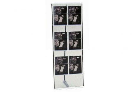 Prospektständer aufrollbar Expand BrochureHolder - 6 Taschen