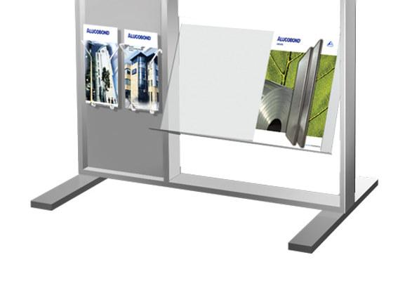 Prospektständer COLUMBIA - Bodenständer