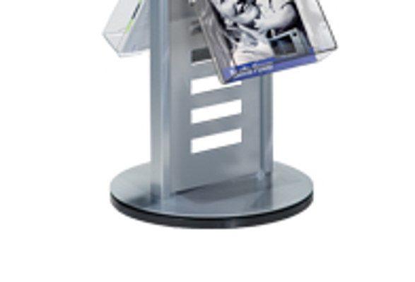 Prospektständer drehbar ARLINGTON - Standfuss