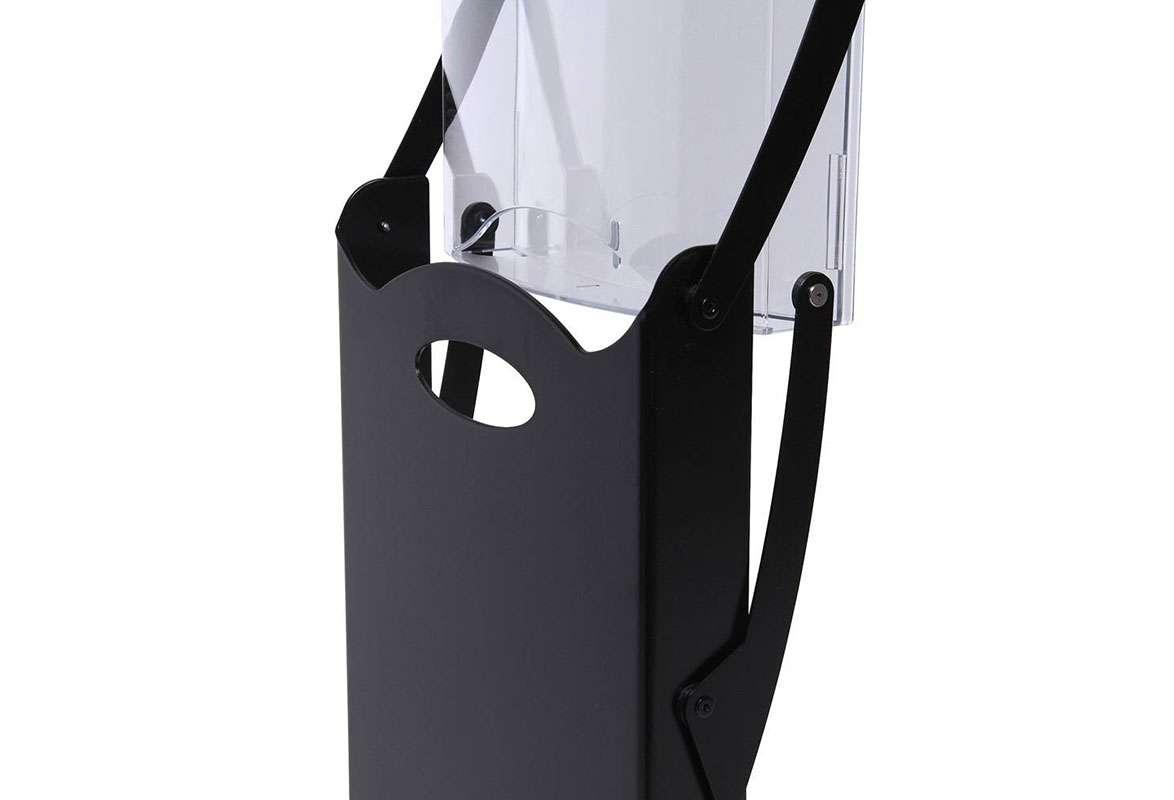 Prospektständer faltbar A4 ATLANTA - Prospekttaschen