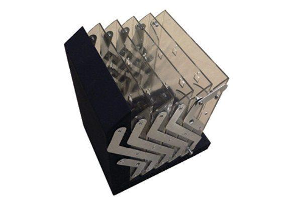 Prospektständer faltbar A4 AUGUSTA - kompakt