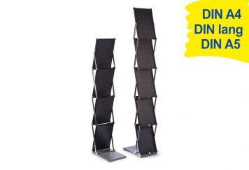 Prospektständer faltbar A4 EXPAND BrochureStand