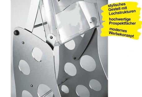 Prospektständer faltbar A4 HONOLULU - Gestell