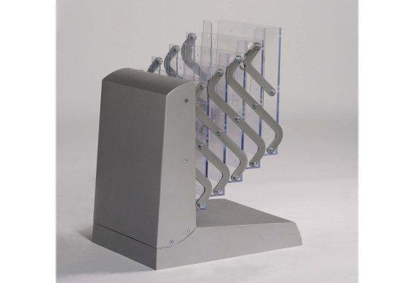 Prospektständer faltbar A4 KNOXVILLE - Bodenständer
