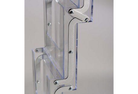 Prospektständer faltbar A4 KNOXVILLE - Prospektfächer