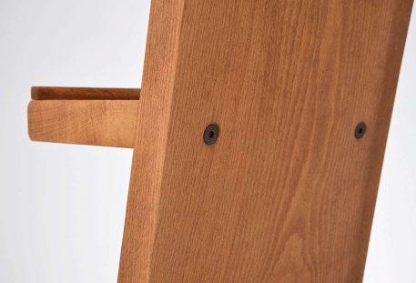 Prospektständer Holz A4 INDIANAPOLIS - Rückseite
