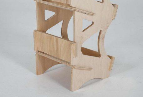 Verkaufsdisplay Holz SOTTILE - Gestell