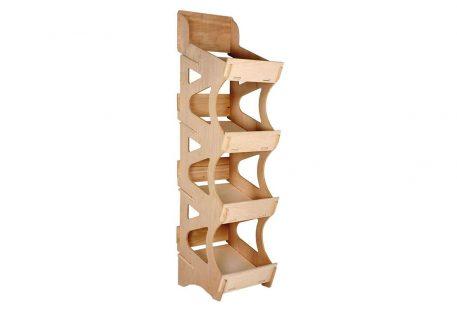 Verkaufsdisplay Holz SOTTILE - L